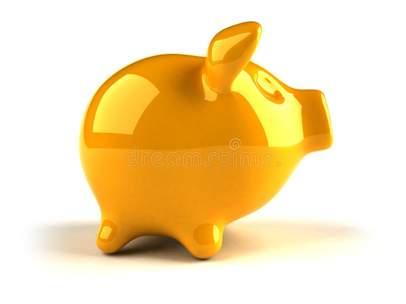 Piggy Bank Royalty Free Stock Photography