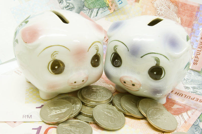 Download Piggy Bank stock photo. Image of couple, credit, bankrupt - 3503898
