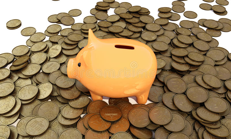 Piggy_bank stock illustrationer