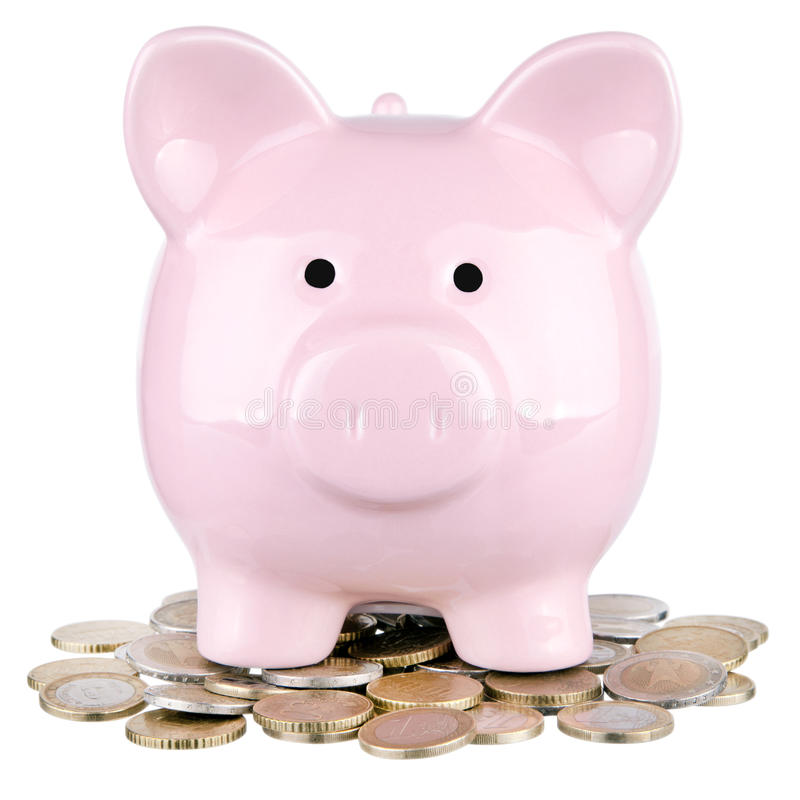 Free Piggy Bank Stock Photography - 50387032