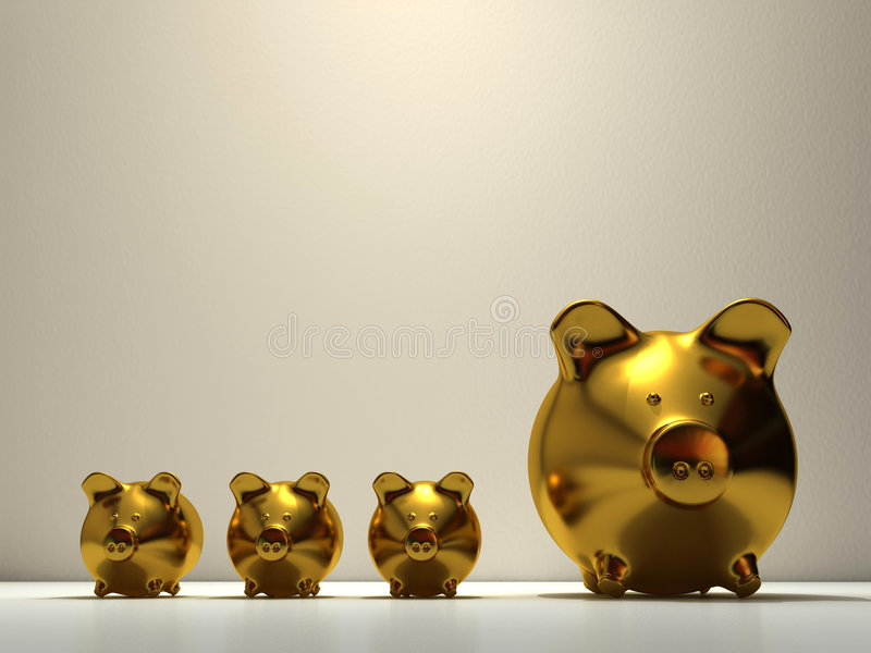 Download Piggy Bank Stock Photography - Image: 5407442
