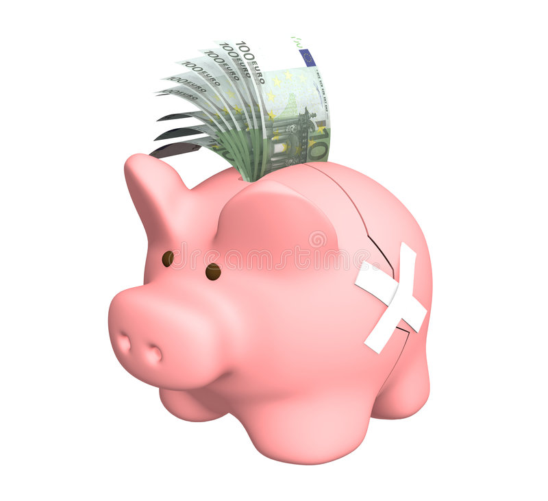 Download Piggy bank stock illustration. Image of growth, economic - 7665461