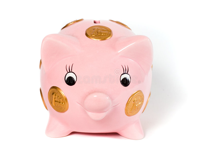 Download Piggy Bank stock image. Image of money, symbols, save, currency - 804483