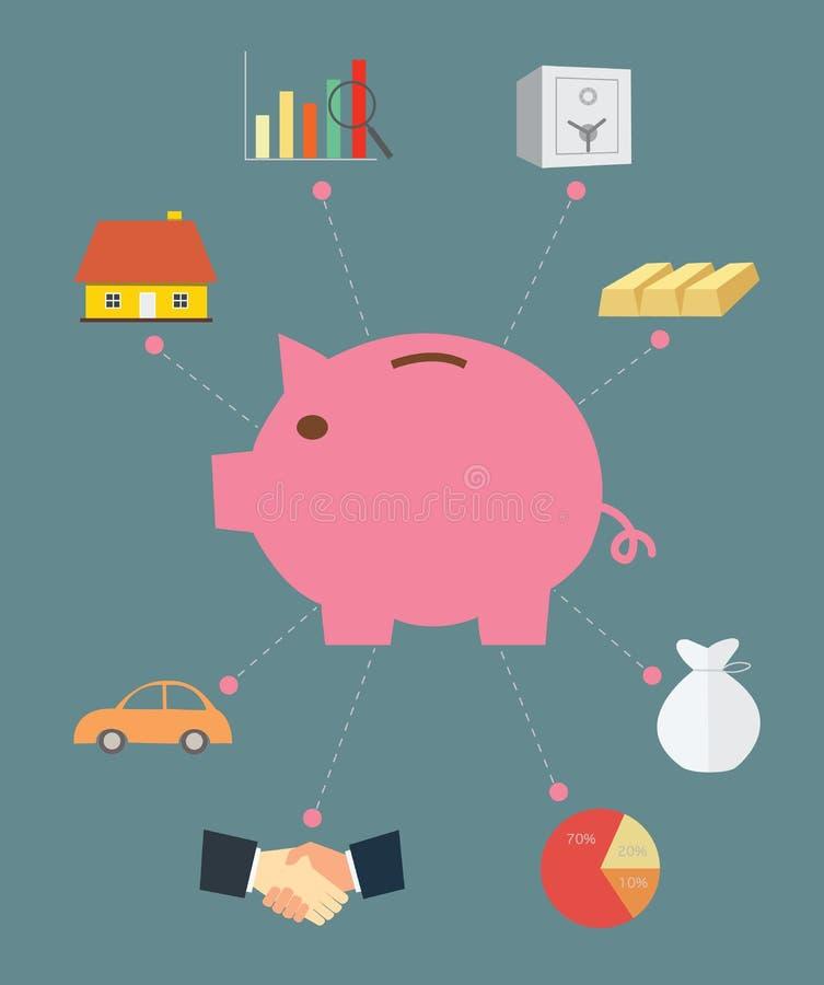 Free Piggy Bank Concept Saving Royalty Free Stock Photography - 41868167
