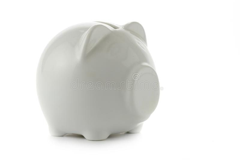 Piggy bank isolated royalty free stock images