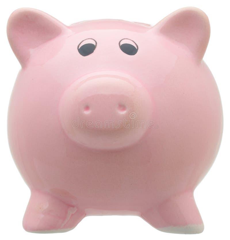 Piggy bank isolated on white background royalty free stock photo