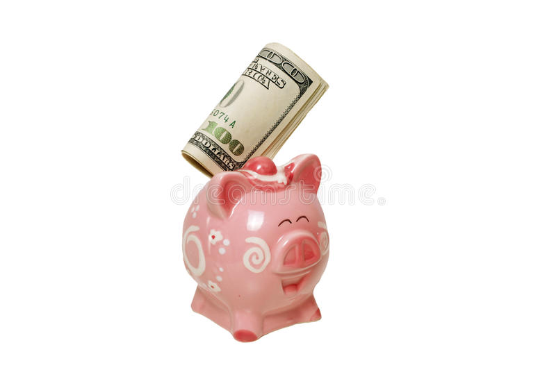 Download Piggy Bank with money stock photo. Image of financial - 13158250