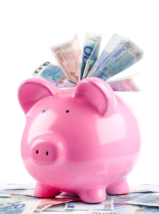 Free Piggy Bank / Money Box Stock Image - 10957351