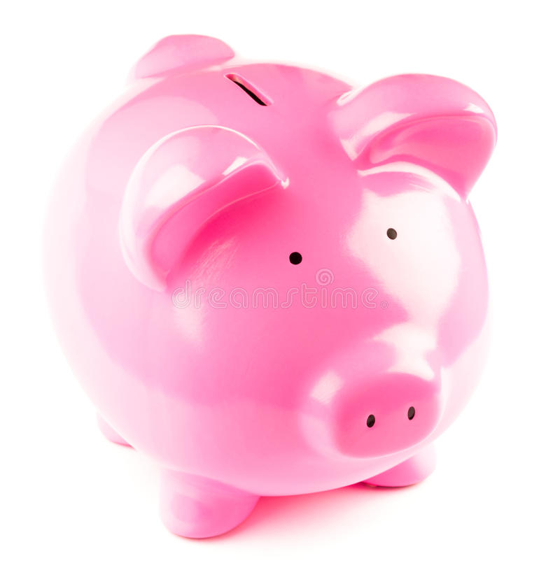 Piggy bank / moneybox. Studio shot