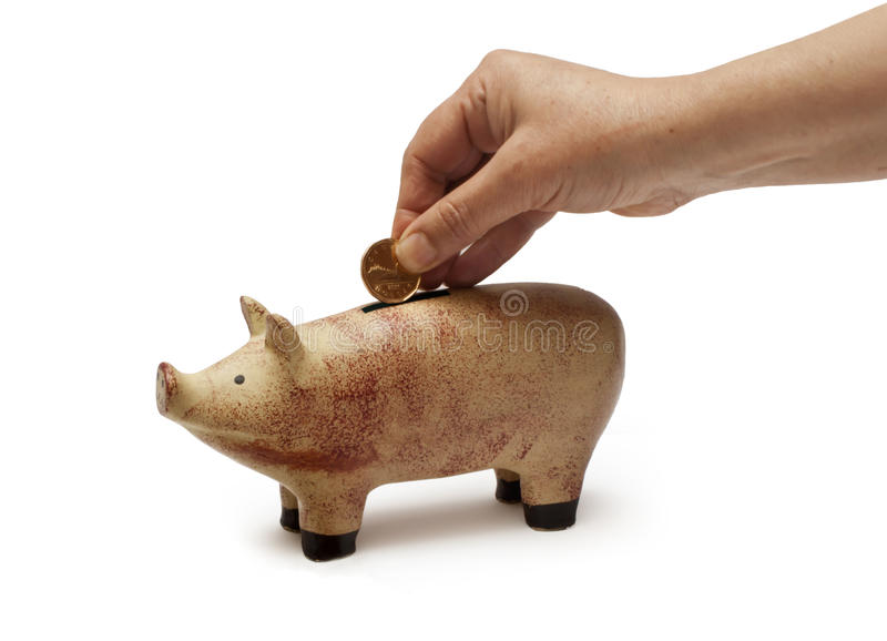 Piggy Bank Or Save Money Stock Images