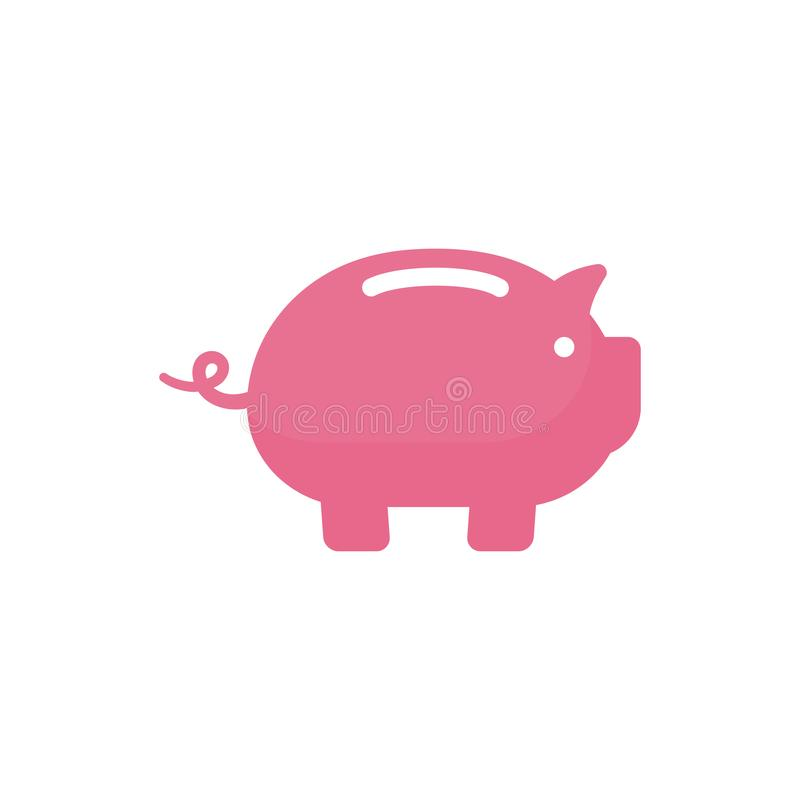 piggy bank vector icon design. piggy bank symbol design illustration stock illustration