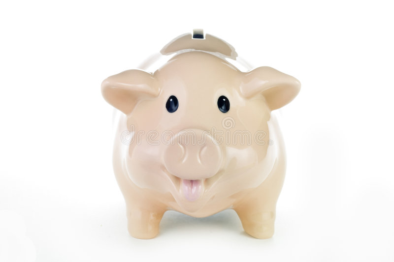 Download Piggy Bank with Work Path stock photo. Image of coins - 9302672