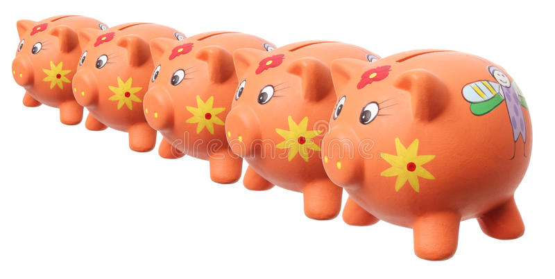 Download Piggy Banks stock photo. Image of cooperation, money - 27166642