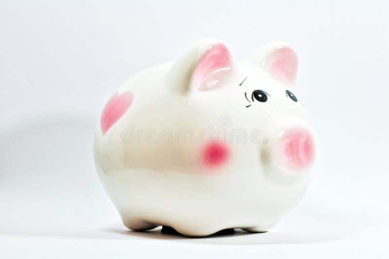 Piggy Einsparungkasten lizenzfreie stockbilder