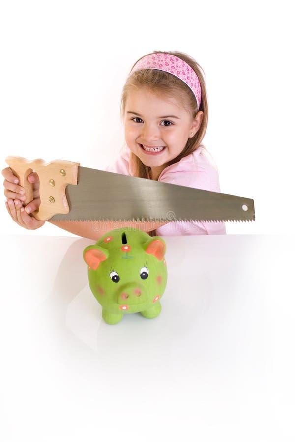 Piggy money stock photo