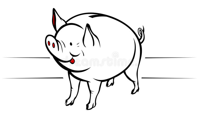 Download Piggy moneybox stock vector. Image of financial, object - 19415011