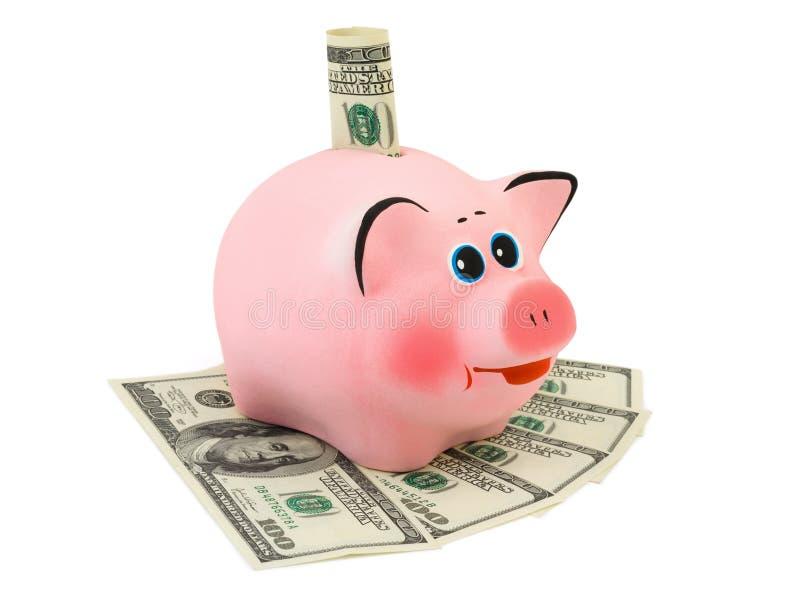 Piggy packa ihop och pengar