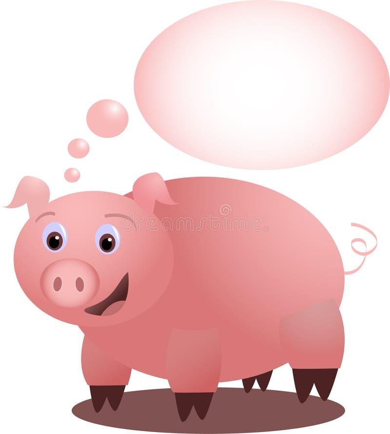 Piggy S Idea - Vectorial Royalty Free Stock Photo