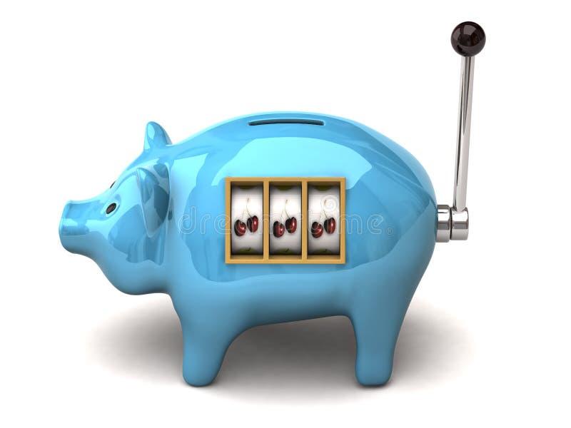Piggy Slot Machine Stock Photos