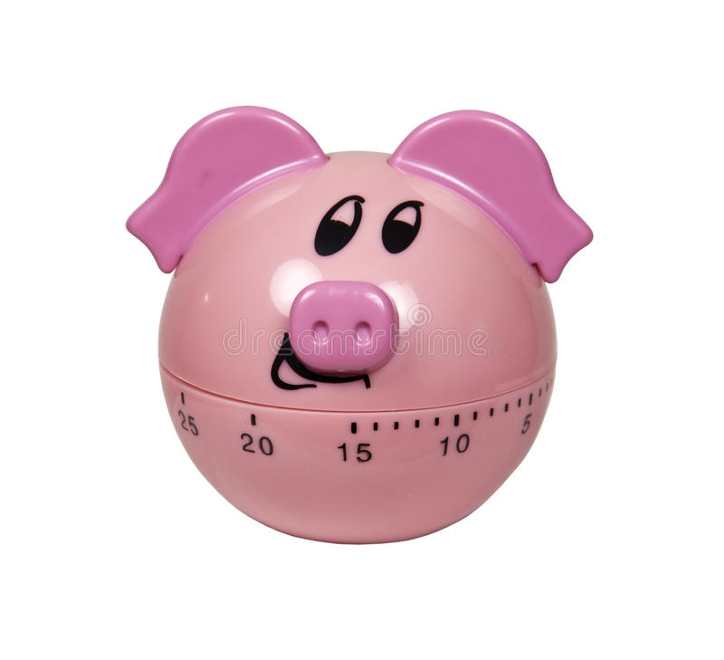 Download Piggy Timer stock image. Image of alarm, timing, gadget - 17066363