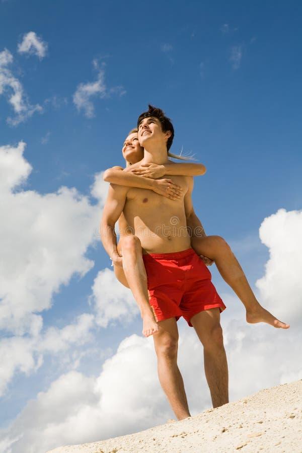 piggyback стоковое фото rf