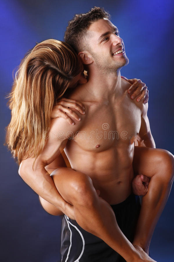 Piggyback love royalty free stock images