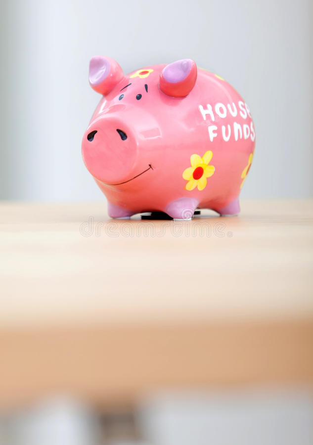 Download Piggybank stock photo. Image of piggy, budget, save, house - 15131462