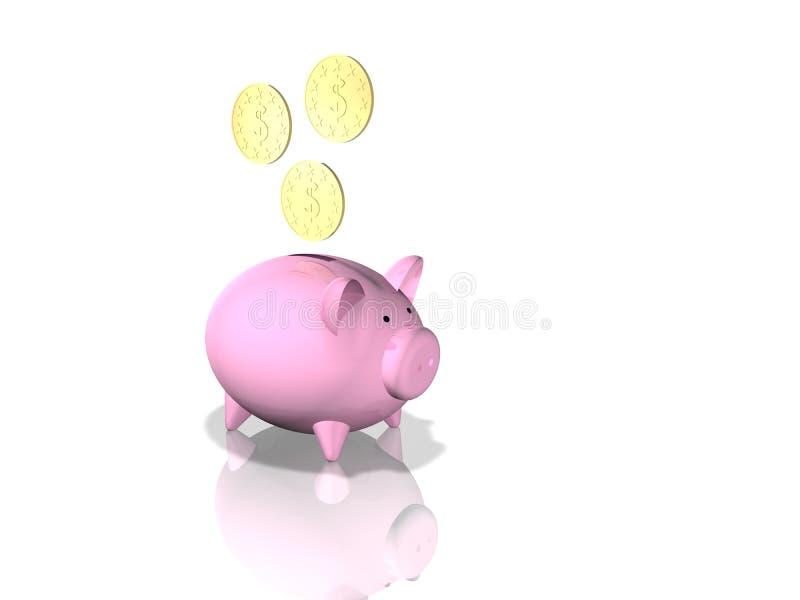 Download Piggybank иллюстрация штока. иллюстрации насчитывающей миниатюрно - 6859481