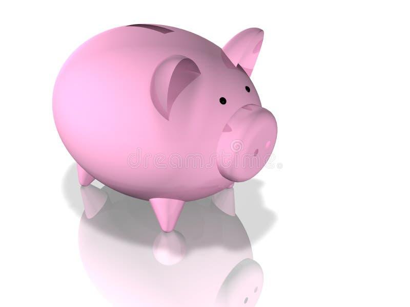 Download Piggybank stock illustration. Image of loan, concept, color - 6859485