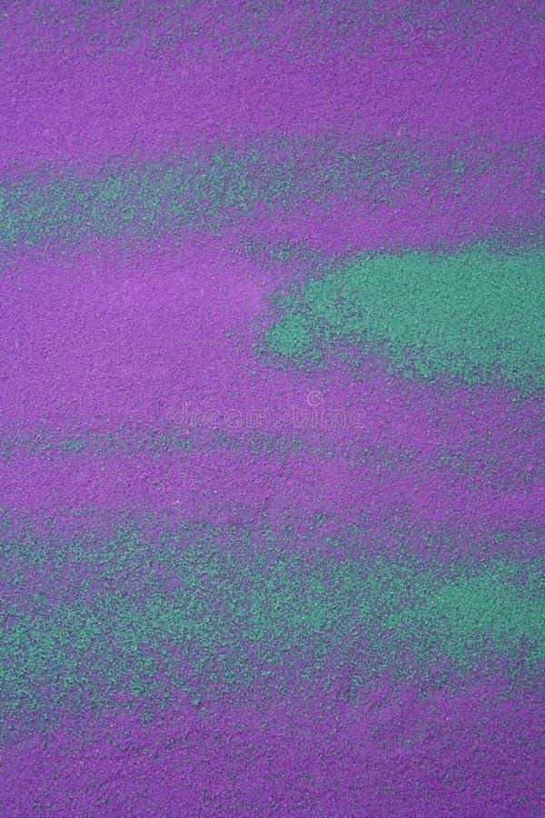 Pigmentos coloridos y texturas del fondo de la sal fotografía de archivo libre de regalías