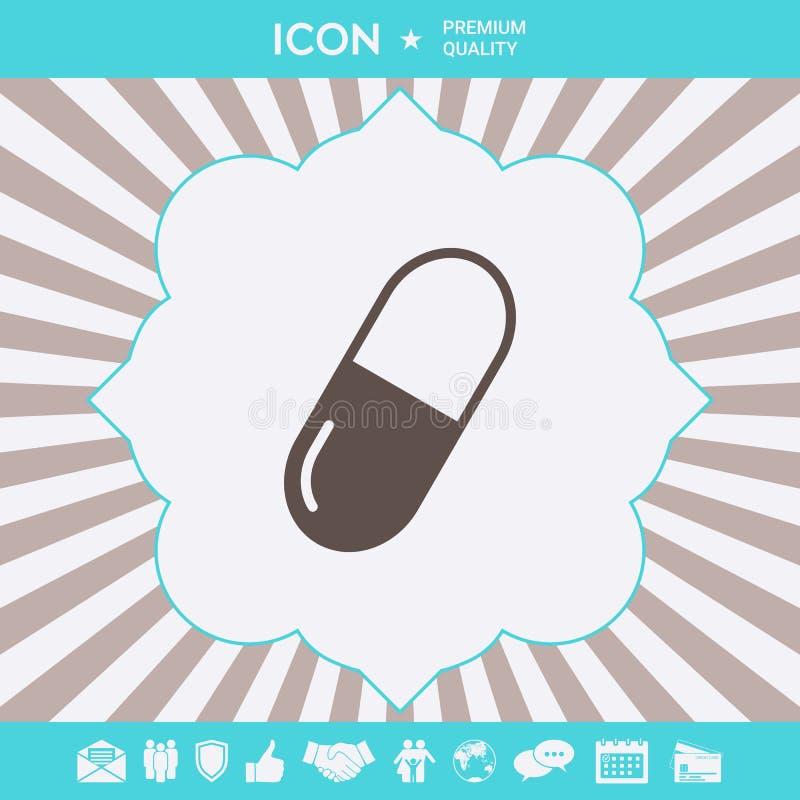 Pigu?ki ikony symbol Graficzni elementy dla tw?j projekta royalty ilustracja