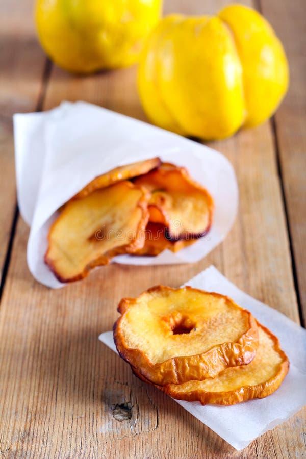 Pigwa chipsy zdjęcie royalty free