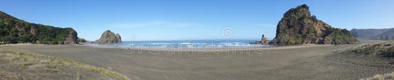 Piha Beach, Nuova Zelanda immagine stock libera da diritti