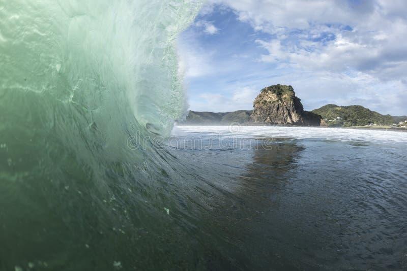 Piha Surf royalty free stock photos
