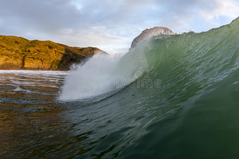 Piha Wave royalty free stock images