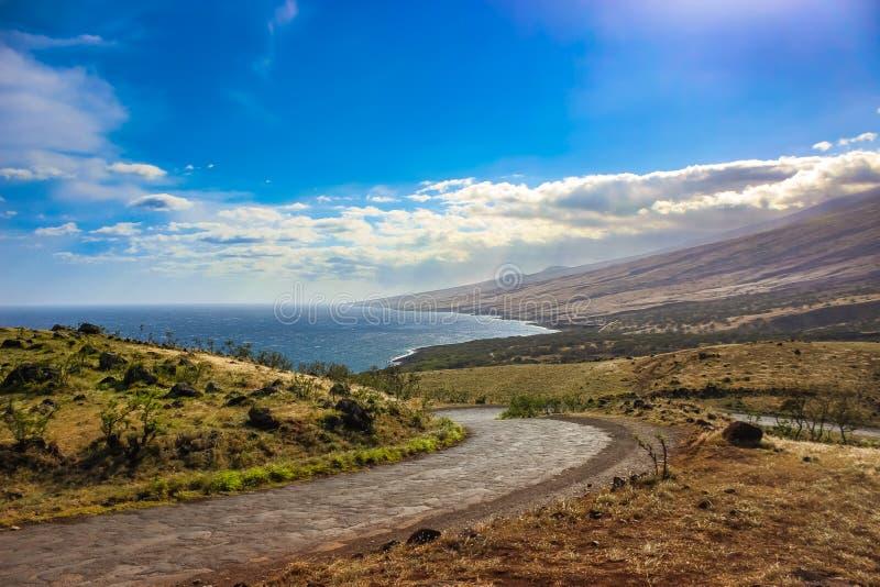 Piilani Highway, Maui royalty free stock photos