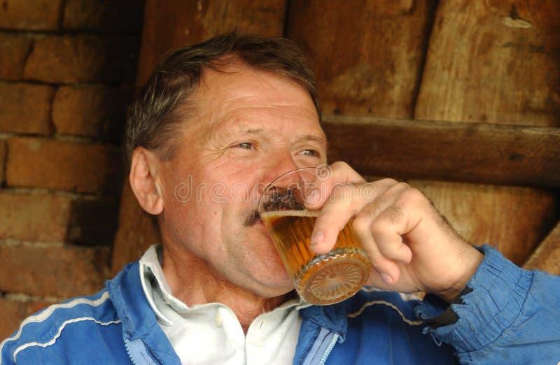 pijący zdjęcie stock