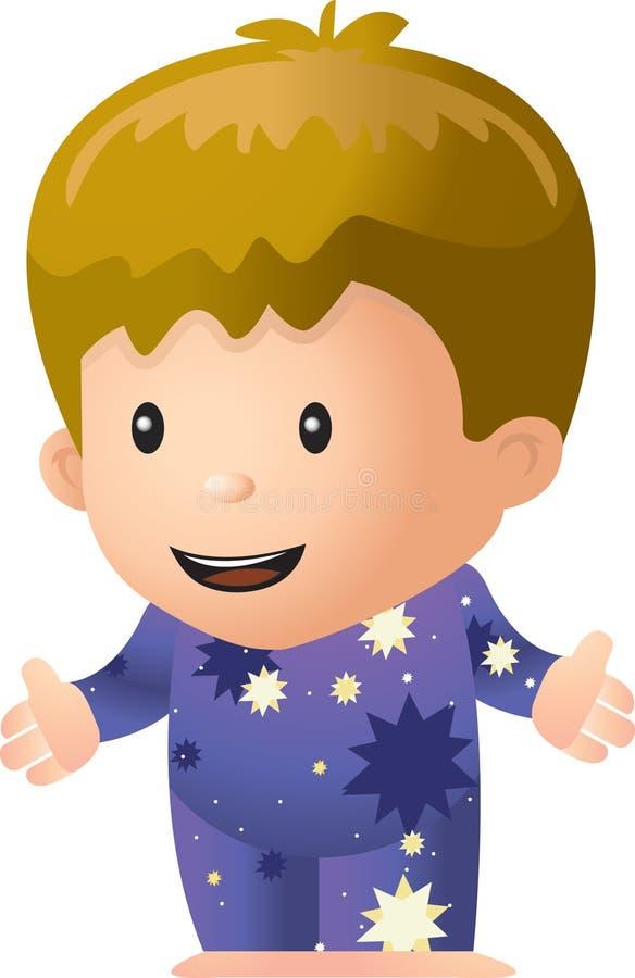 Pijamas stock de ilustración