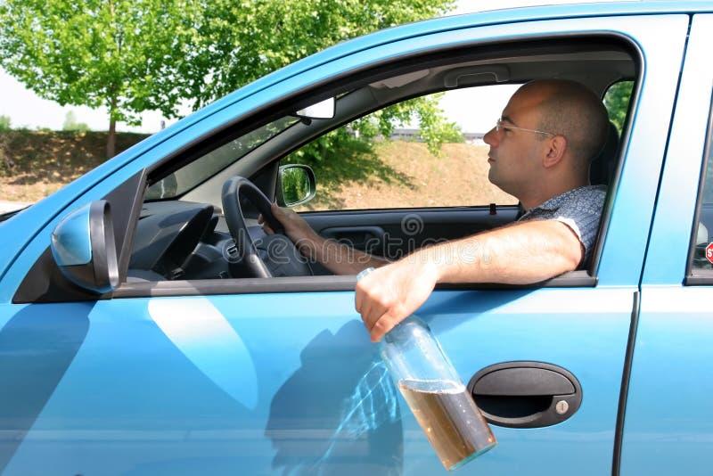 pijany kierowca człowieku obraz royalty free