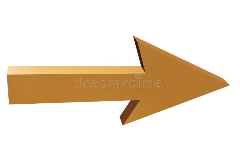 Pijl vector illustratie