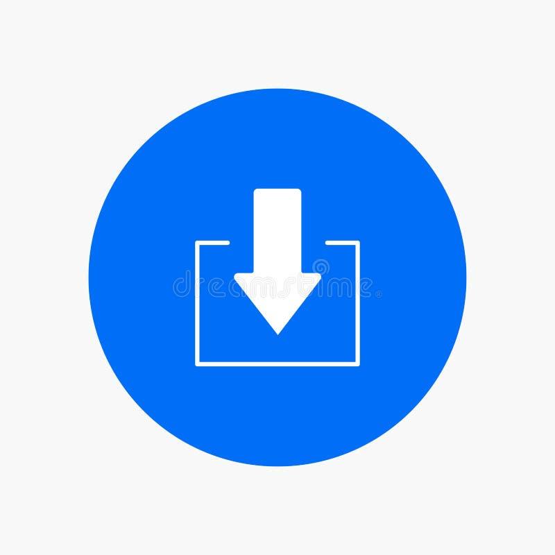 Pijl, onderaan, Download vector illustratie