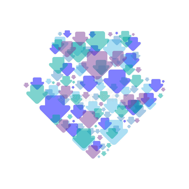Download Pijlen vector illustratie. Illustratie bestaande uit richting - 29507262