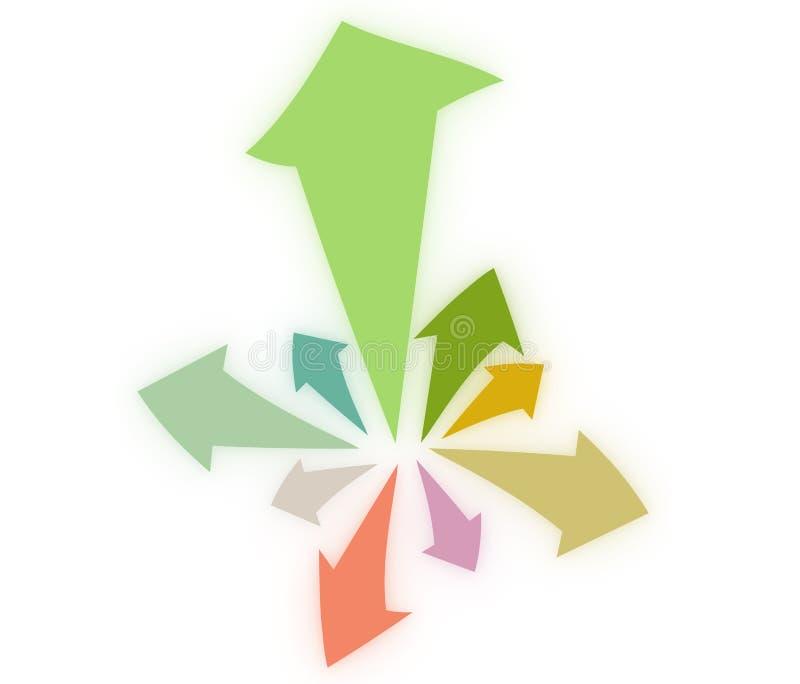 Pijlen vector illustratie