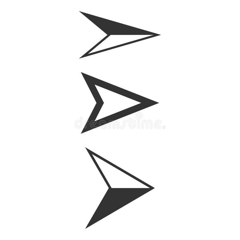Pijlenwijzer vector illustratie