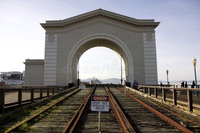 Pijler 39 in San Francisco stock fotografie