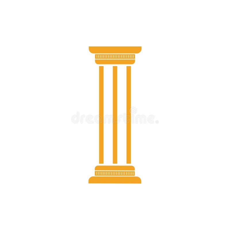 pijler stock illustratie