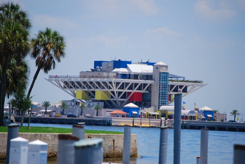 Pijler-St. Petersburg, Florida royalty-vrije stock foto's