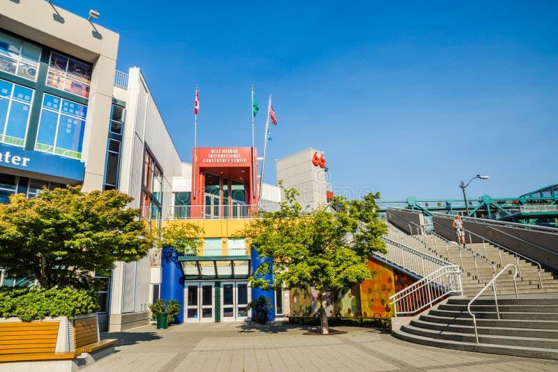 Pijler 66 van de klokstraat de waterkant van Seattle royalty-vrije stock fotografie