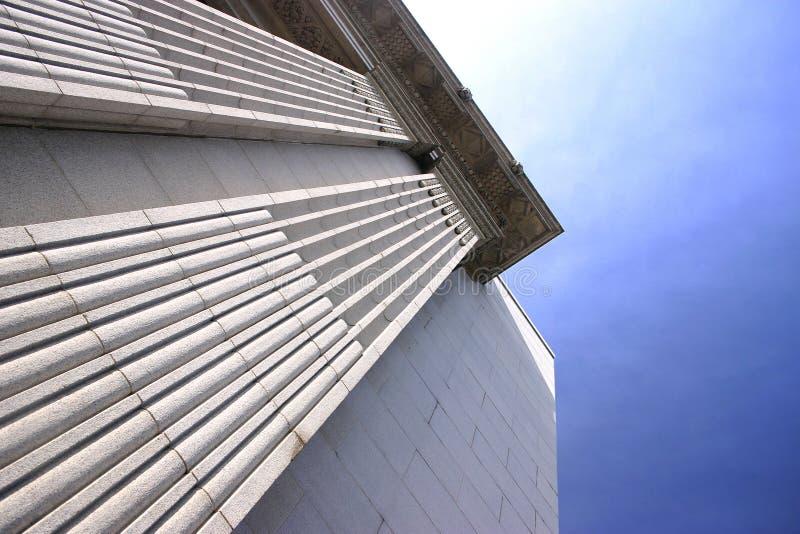 Pijlers Stock Foto