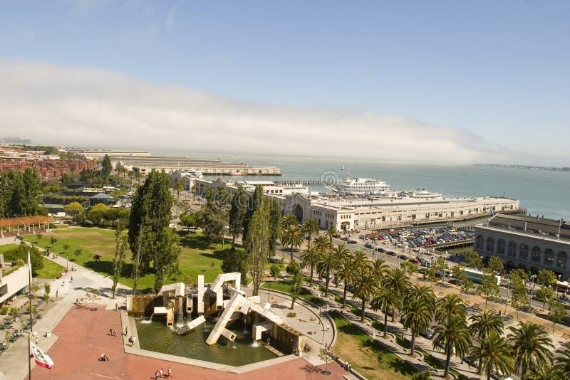Pijlers in San Francisco royalty-vrije stock foto's